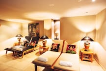 Wellness Oase  ROYAL ORCHID Ruhebereich