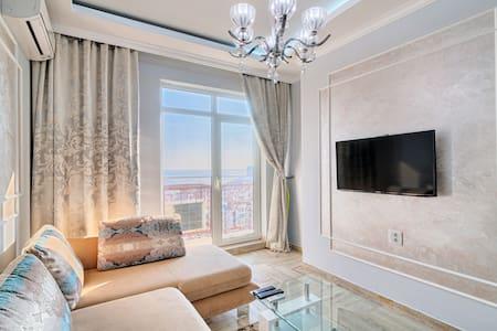 1к квартира в ЖК девятая Жемчужина с видом на море - Odessa - Apartment-Hotel