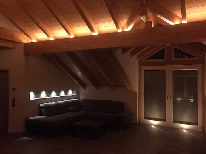 Dachgeschosswohnung, modern