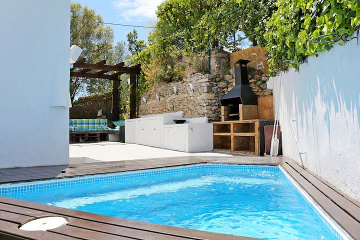 Begur House for 9 pax, with Jacuzzi Exterior.