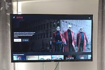Bedroom TV.  Fully Subscribed. NETFLIX | SHOWMAX | DSTV