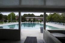 Access to neighborhood pool