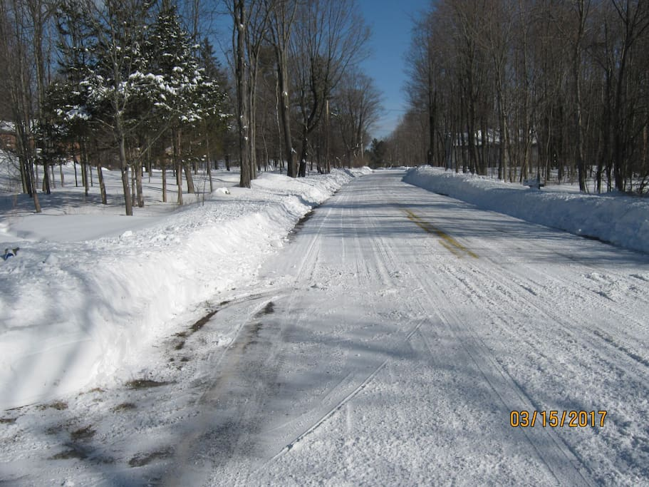 They do a good job plowing our roads.