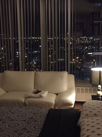 The most luxurious room with a superb view of NYC