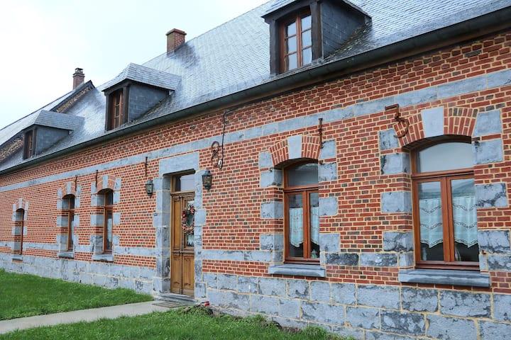 Maison cosy à la campagne en Thiérache