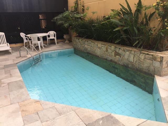 Great apartment at Enseada Beach, Guaruja.