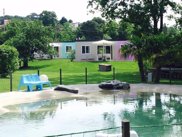 Albaluce Village - casa mobile con due bagni