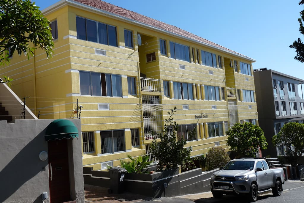 Apartment Block Front View