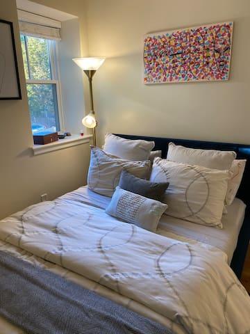 Private room + separate studio in Brookline