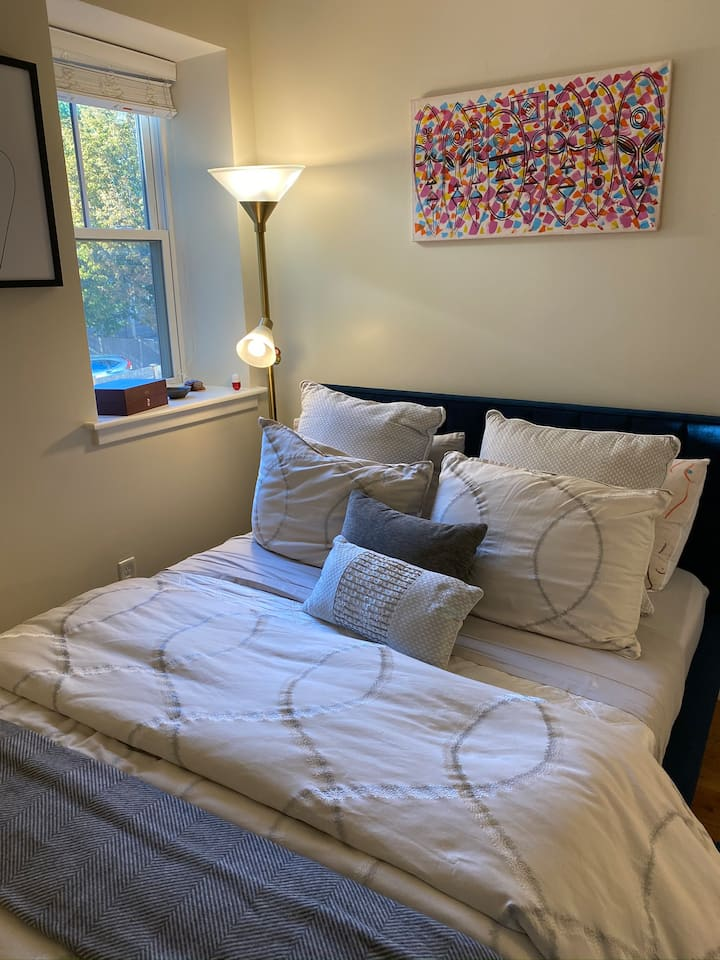 Private room + separate studio in Brookline