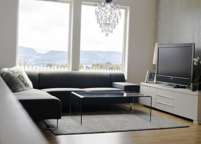 Beautiful and modern apartment with a great view - Bergen - Lägenhet