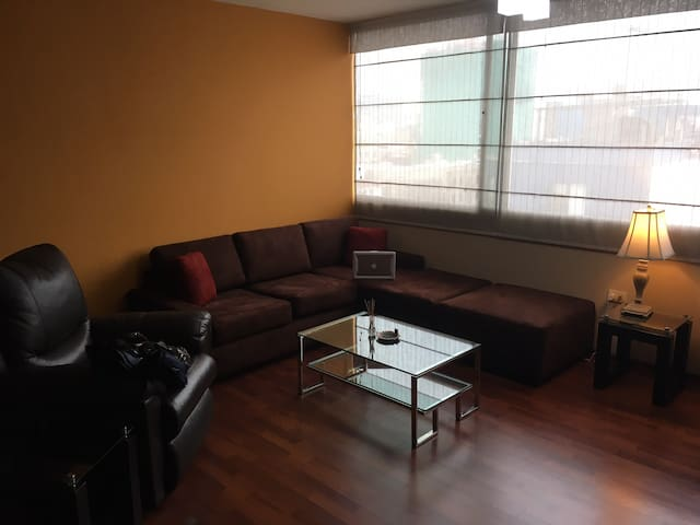 Great views in a safe area! Two bedroom apartment!