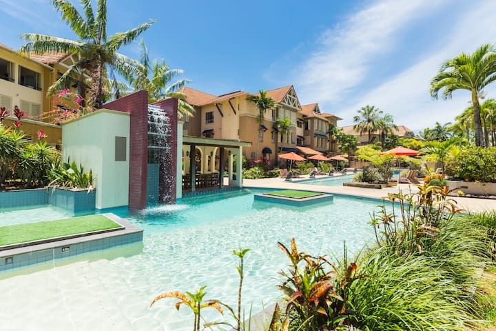 Four Free Pools within the Resort