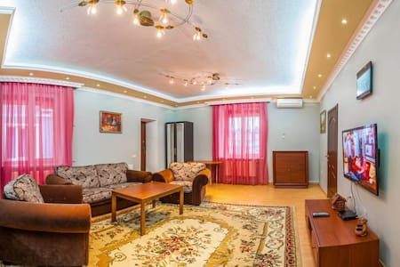 Two bedroom apartment. Abuzerye  will be glad to meet guests in the bosom of the picturesque Belarusian nature.