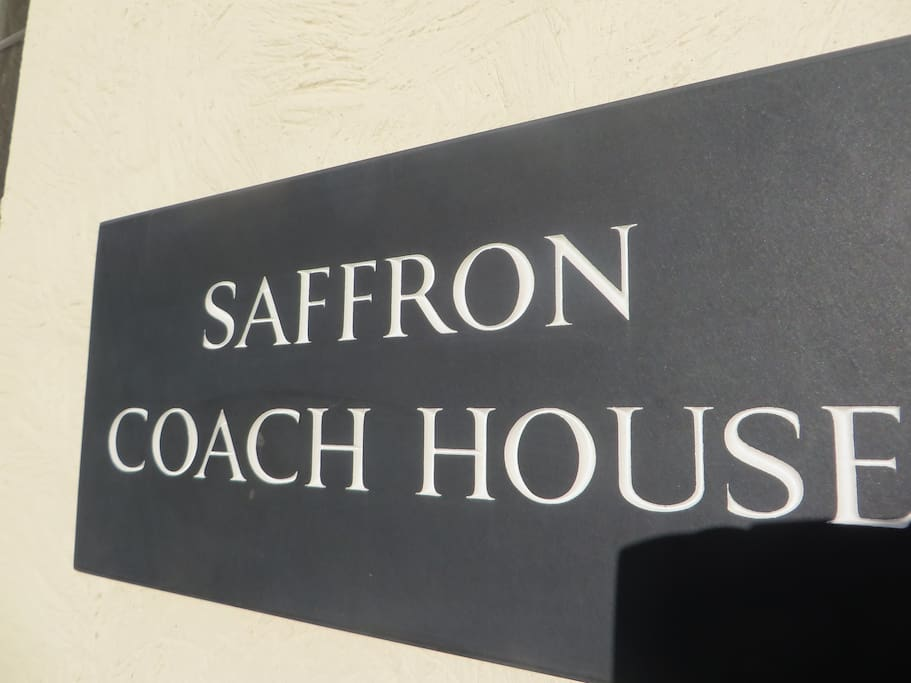 Saffron Coach House has plenty of parking on site