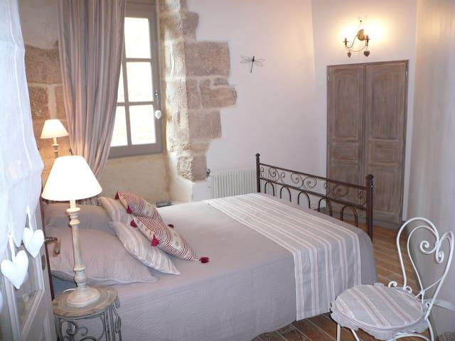"""appartement """"châtaigne"""" au coeur de Sarlat, wifi. - Sarlat-la-Canéda - Huoneisto"""