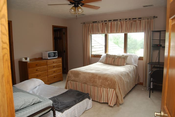 Lovely room with living area & private bath.