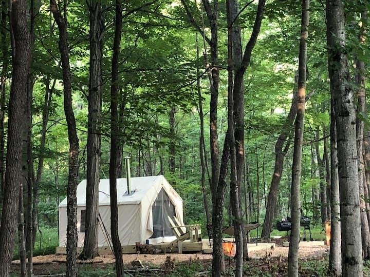 Tentrr Signature Site - Creekside Zen in Catskills