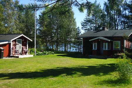 Lysti Cottage by the lake and magical countryside