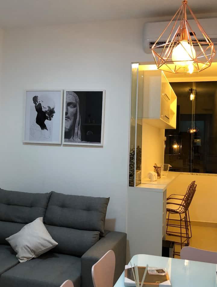 Apartamento moderno em Copacabana
