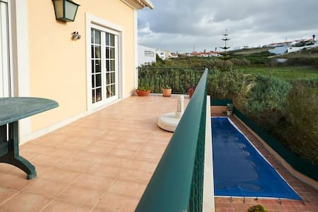 Ericeira Terrace with Private Pool Next to Beach - Carvoeira - Dům