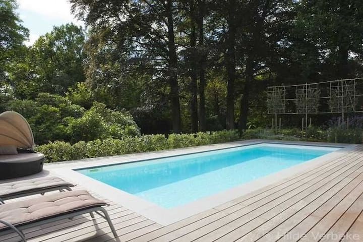 Modern Villa with Swimming Pool in Beaufort