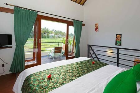 SUPERIOR BALCONY ROOM 301 Ricepadis - Gianyar - 别墅