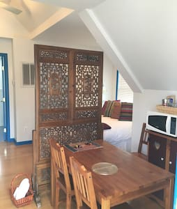 Inviting private carriage house with full bath. - Birmingham - Hus