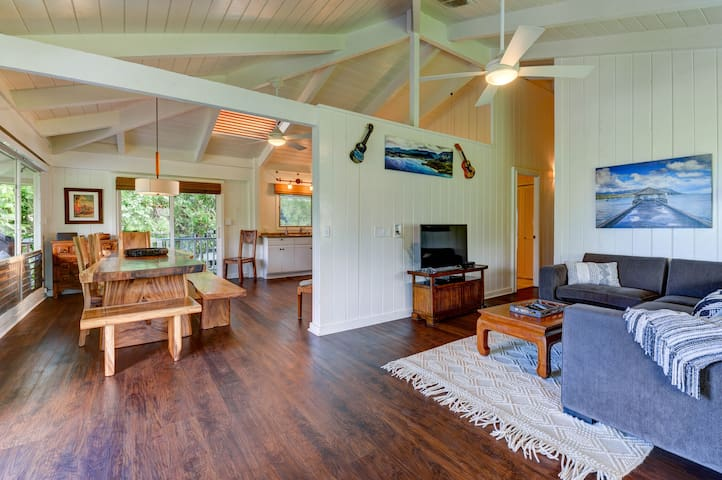 Hanalei Dream House- 5 bikes included, new upgrades! Under new Ownership! - Hale Naninoa