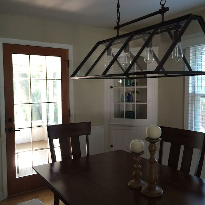 Dining Room to Porch