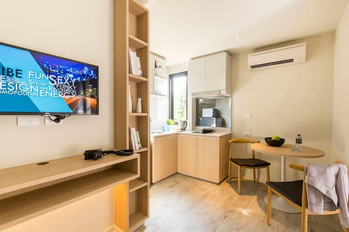 6 Studio residences of 28m2 each - Shared Pool! - Bangkok - Boutique hotel