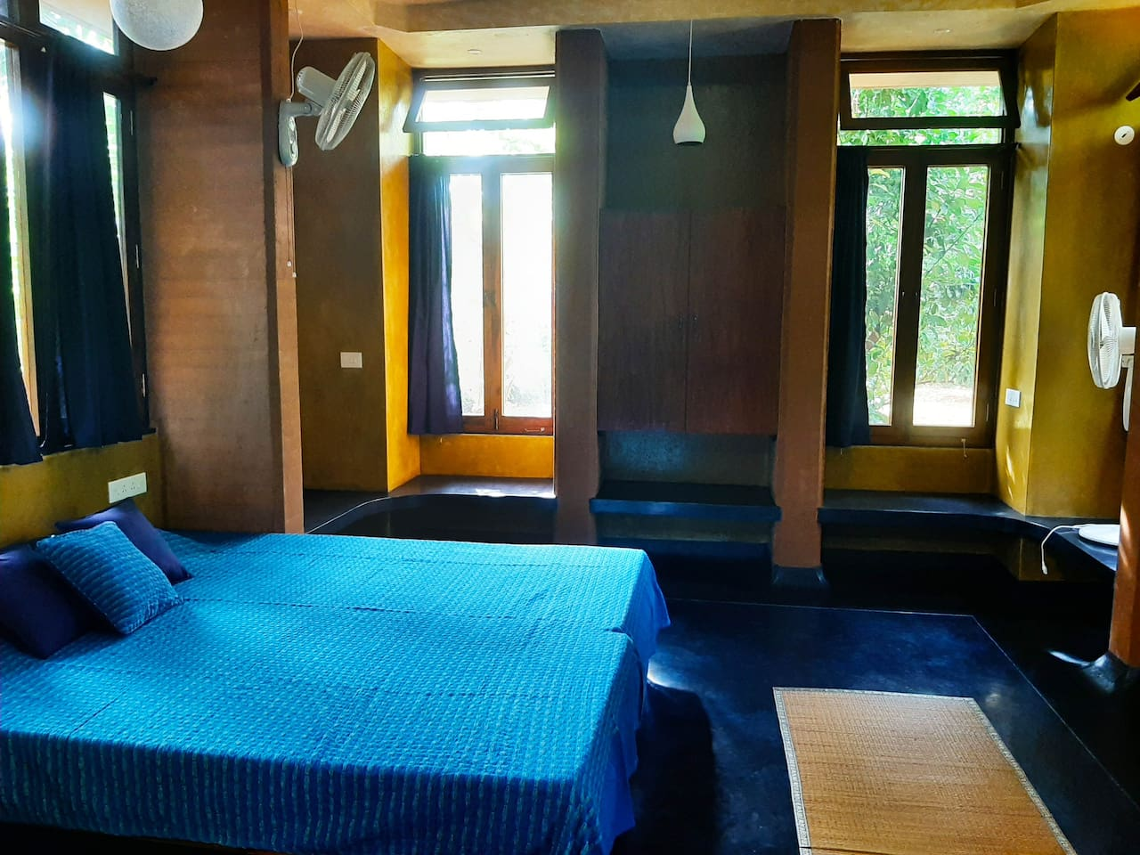 Large, airy double bedroom, where beds can be separated on request