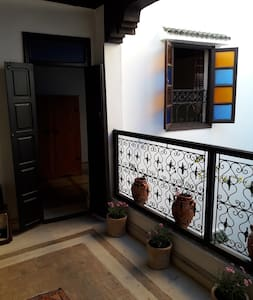 Room in Riad, in the heart of the ancient medina - Marrakesh - Guesthouse