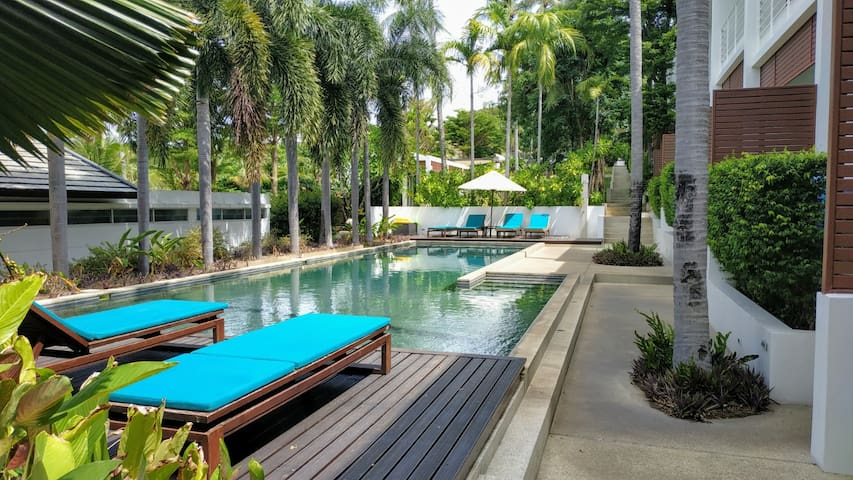 The Park Resort, spacious Town House, 2 pools.