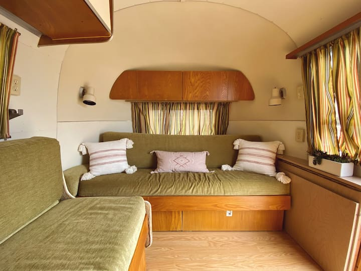 1967 Airstream Globetrotter at The Range VTR