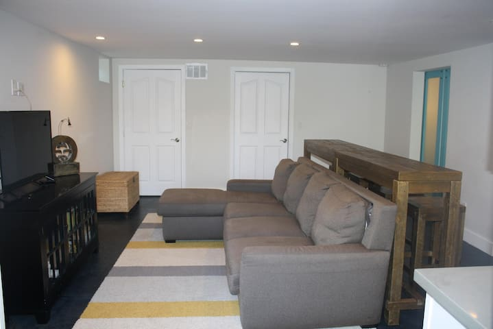 Living Room and Queen Sofa Sleeper