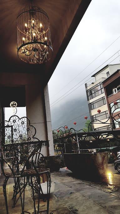 一樓開放式露台
