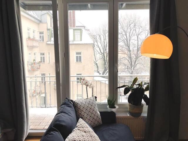 Schönes Appartement im  In-Viertel Maxvorstadt