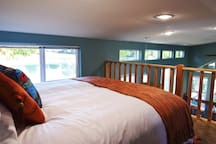 Feel like a kid again, head up to the sleeping loft and enjoy the views, right from your bed.