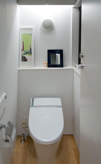 専用トイレです
