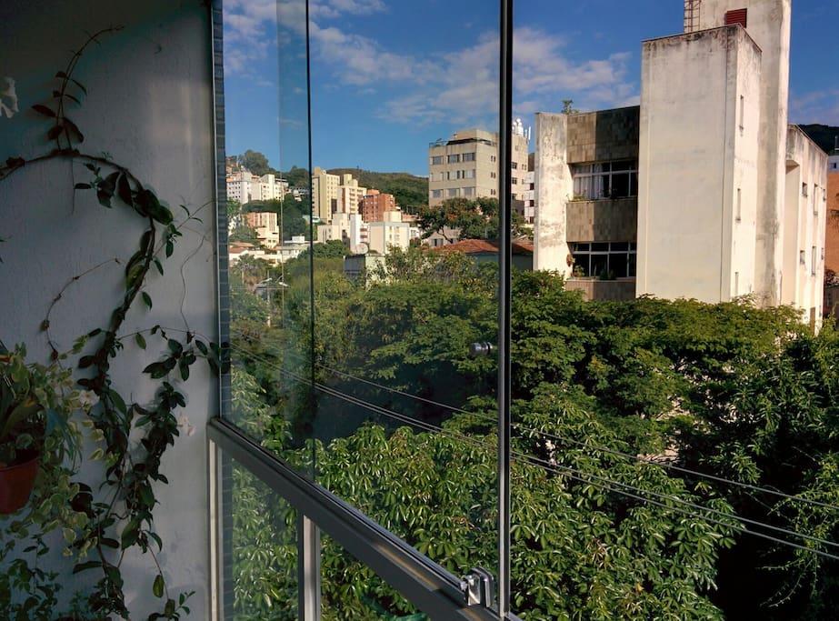 Visual desde a varanda / view from the balcony