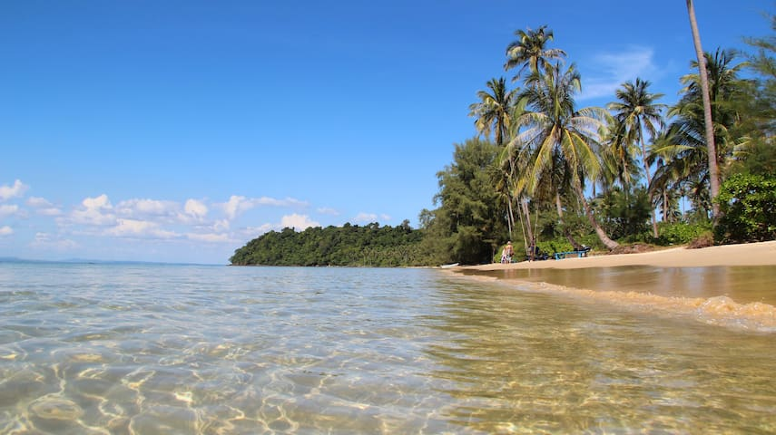 Lonely Beach - Family Bungalow - Krong Preah Sihanouk - Domek parterowy