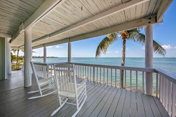 NEW LISTING! Incredible oceanfront home on large lot w/bar, dock & amazing views