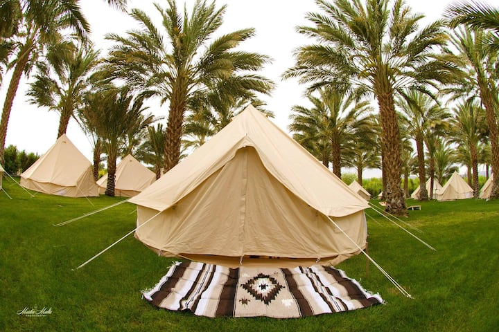 FestivalCampground@rancho51dategardn Belltent 0bed