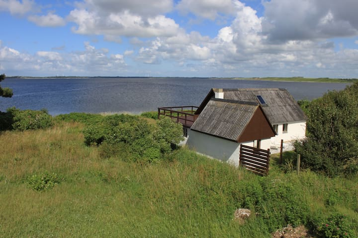 Sommerhus i vandkanten - Nykøbing Mors - 小木屋