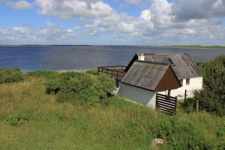 Sommerhus i vandkanten - Nykøbing Mors - Ξυλόσπιτο