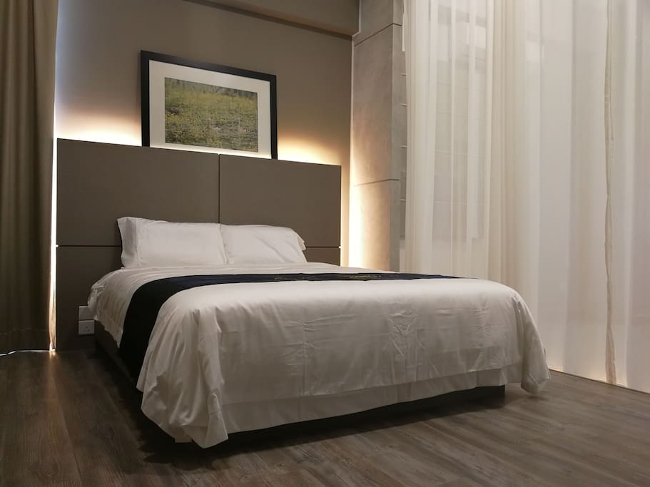 Honeymoon suite in puchong with pool gym appartements
