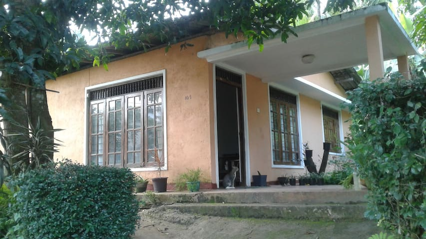 School teacher's house  (Chandana's place )