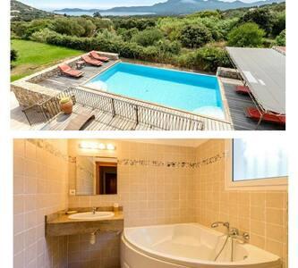 villa plage piscine Lumio 12 pers& - Lumio