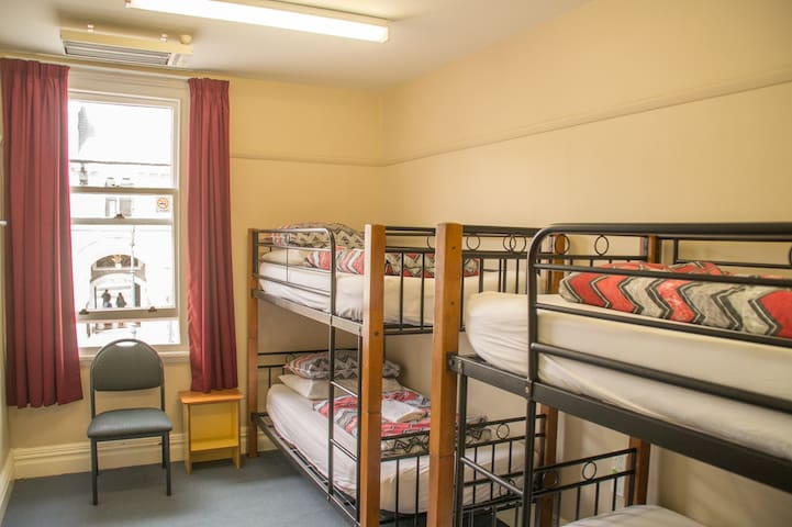 4 Bed Mixed Dorm - YHA Rolleston House